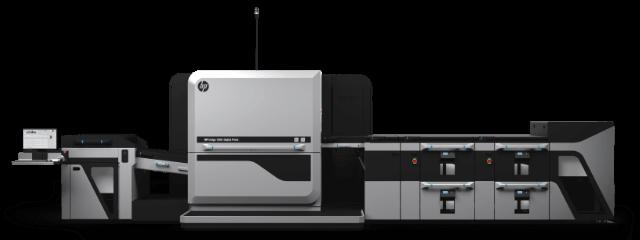 HP Indigo 100K Digital Press image